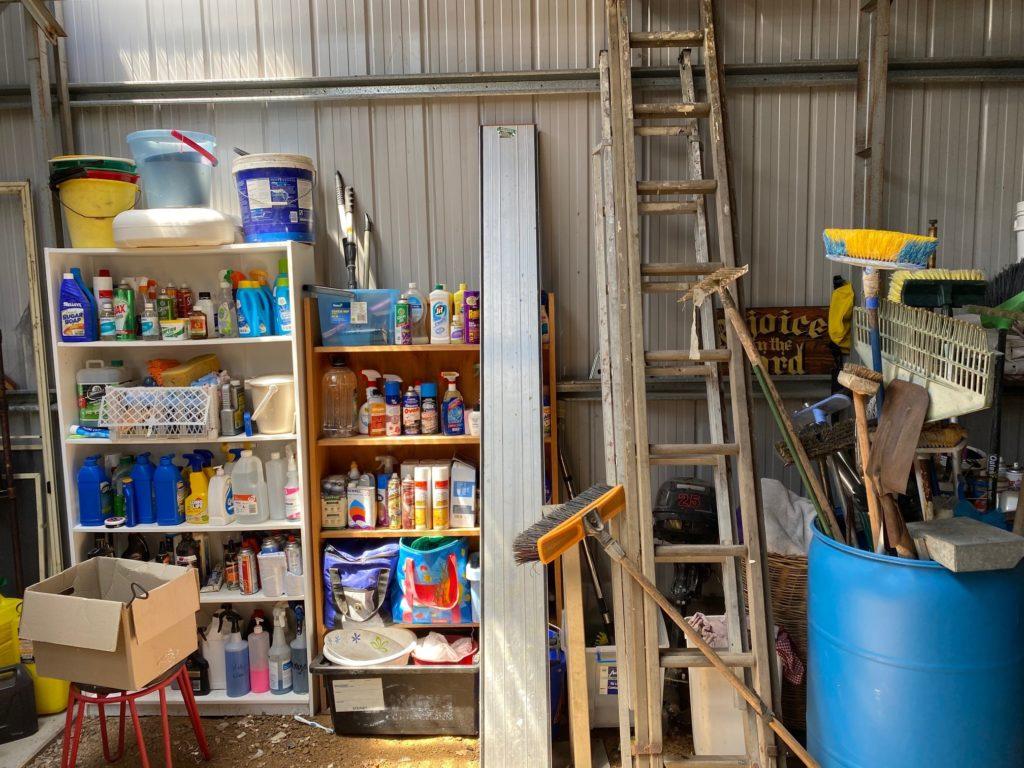 Handyman workshop ready to go