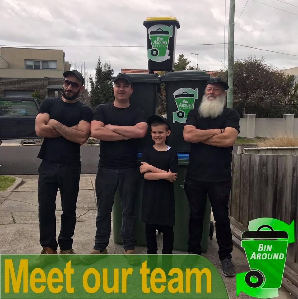 Bin Around Mornington team