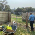 Building a fence in Mornington