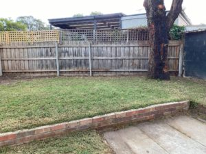 Yard cleaned and cleared up. Rubbish removal sorted. Mornington